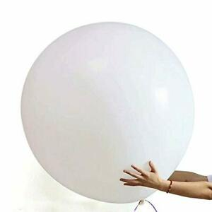 """6 x 36"""" Round Latex Balloons, Thick Extra Large & Reusable"""