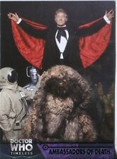 Doctor Who Timeless Green Parallel Base Card #9 Ambassadors of Death