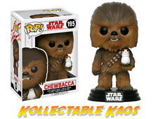 Star Wars Episode VIII: The Last Jedi - Chewbacca with Porg Pop! Vinyl Figure