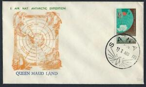 SOUTH AFRICA 1960 ANTARCTIC EXPEDITION QUEEN MAUD ISLAND SANA DATED CANCEL