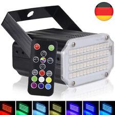 48 LED Stroboskop Disco Licht,Sound aktiviert Party Lichter Blinklicht für Bar