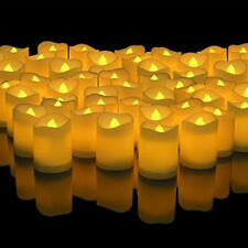 192pcs LED Flameless Tealights Battery Operated Flickering Tea Light Candles