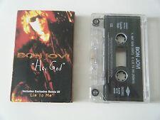 BON JOVI HEY GOD CASSETTE TAPE SINGLE MERCURY UK 1996