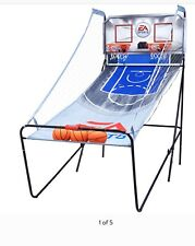 EA Sports 2 Player Indoor Basketball Dual Shooting Arcade Game with Scoreboard