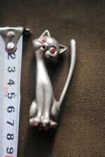 Old metal figurine. CAT.
