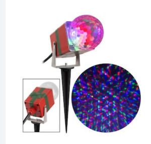 Kaleidoscope LED Lightshow, Red/Green/Blue, Projects Up To 30 Feet Wide