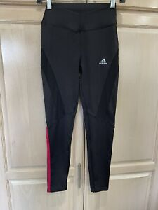 3 Strip Women's Adidas  Running Gym Tights Climacool Small