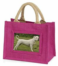 American Staffordshire Bull Terrier Dog Little Girls Small Pink Shop, AD-SBT9BMP