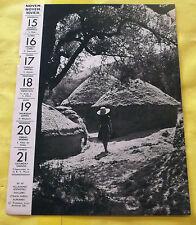 1959 VILLAFAMES ESPAGNE. PAILLERS.Image Poster case hutte régionalisme