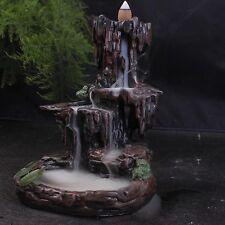 "Resin Backflow Incense Holder ""Mountain Falls"""