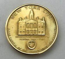 18k Gold New York City Bicentennial Medal 21.8g Medallic Art Co. #117
