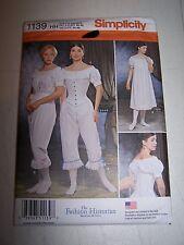 WOMENs CIVIL WAR UNDERGARMENTS Pattern Fashion Historian Simplicity #1139 CORSET