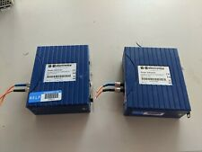 2x B&B Electronics Eir-M-St Hardened Fiber Optic To Ethernet Bridge Converter