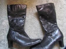 Black Boots Size 5/38 By K Shoes