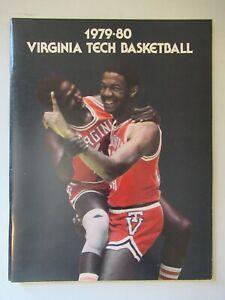 Virginia Tech Basketball book vintage 1979-80