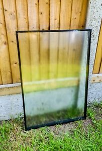 DOUBLE GLAZED GLASS PANEL UNIT 774mm HIGH 574mm WIDE 28mm THICK