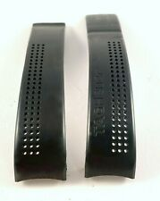 Band For Carrera Deployant Clasp 20/18mm. Used Tag Heuer Black Silicone Watch