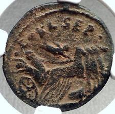 JULIA SOAEMIAS - HADES Abducts PERSEPHONE Roman Coin Sebaste Samaria NGC i68723