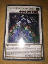 Yu-Gi-Oh! BLLR-EN062 Crystal Wing Synchro Dragon – Secret Rare