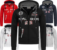 Geographical Norway Herren Sweat Jacke FVSB Sweatshirt Hoodie Übergangs Jacke