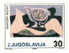 YUGOSLAVIA - 1986 - Modern Painting by Frantisek Muzika - MNH Stamp - #1828