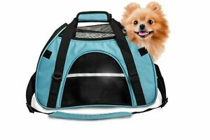 FurHaven All Season Pet Tote SMALL Carrier with Weather Guard - Robin Blue