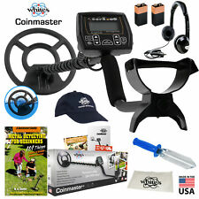 Whites Coinmaster Metal Detector GEARED UP Bundle