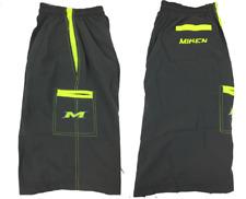 Miken Microfiber Shorts GREY/VOLT MEDIUM