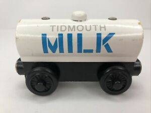 Thomas & Friends Wooden Railway Train Tidmouth Milk Tanker
