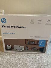 HP Simple Multitasking Printer Deskjet Plus 4155 Brand New in Box ✅