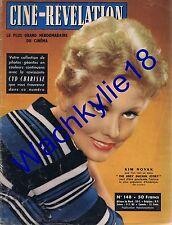 Ciné-Révélation n°148(1957) Kim Novak William Holden Tilda Thamar