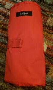 Diaper Mat Changing Pad Kate Spade Red 15x27  Pre-Owned