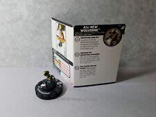 All-New Wolverine - 036 Marvel X-Men Xavier's School HeroClix Miniature Rare