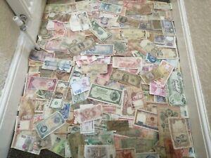 350 damaged banknotes