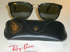 BAUSCH & LOMB RAY BAN W0926 SHINY BLACK G15 PREMIER TRADITIONALs SUNGLASSES