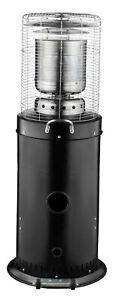 Terrassenheizer Gasheizer 12,5kW Heatmaster Heizstrahler 1209B Edelstahl/schwarz