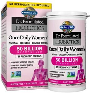 Garden of Life Once Daily Women's 16 Strains of Live Bacteria 30 Capsules