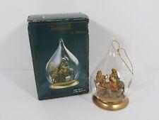 Fontanini by Roman Flight Into Egypt #56243 Blown Glass Ornament Mary & Joseph
