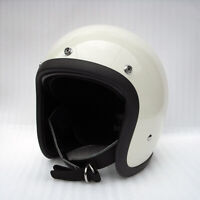 Open face motorcycle helmet fiberglass retro vintage cool custom