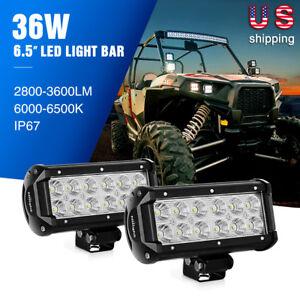 Nilight 126W/72W/36W/18W LED Light Bar Work Fog Driving Lamp Wiring Harness Kit