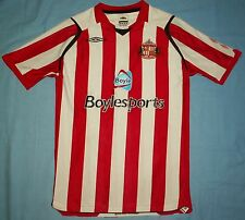 SUNDERLAND AFC / 2008-2009 Home - UMBRO - JUNIOR Jersey / Shirt. Size: 10-11 yrs