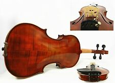 USED, FINE 4/4 SIZE VIOLIN, GOOD SET UP W/ PRELUDE STRINGS & FRANCE BRIDGE