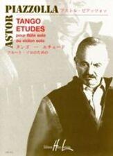 Tango Etudes (flute or violin); Piazolla, Astor, Flute solo, LEMOINE - HX24897