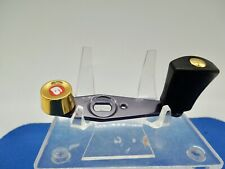RARE ABU GARCIA AMBASSADEUR 5500CDL GOLD FISHING REEL HANDLE MINT CONDITION