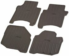 Genuine Honda OEM - Honda Fit All Season Rubber Floor Mat Set - 08P13-SLN-101