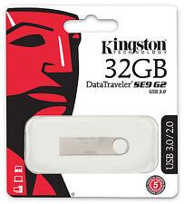 KINGSTON MINI PENDRIVE USB 3.0 32GB CHIAVETTA PENNA 32 GB CHIAVE FLASH
