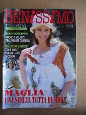 BENISSIMO rivista di lavori Femminili n°6 2002  [G582]