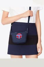 NWT Tory Burch Tory Sport Logo Nylon Cross-Body/Shoulder Bag in Tory Navy