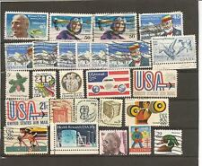 USA-LOT OF OLD USED STAMPS+++