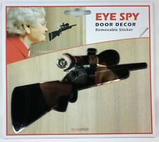 EYE SPY - Door Decor Removable Sticker - Rifle Design (3 Designs available)